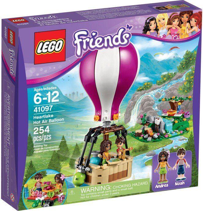 LEGO Friends 41097 Teplovzdušný balón v Heartlake | MALL.SK