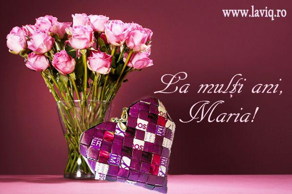 La multi ani Maria!  www.laviq.ro https://www.facebook.com/pages/LaviQ/206808016028814
