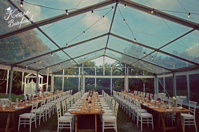 T&D Wedding - Clear Roof Marquee @ Waverley Estate