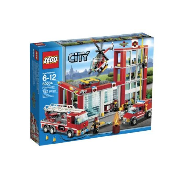 Cheap LEGO City Sets | LEGO City Fire Station 60004