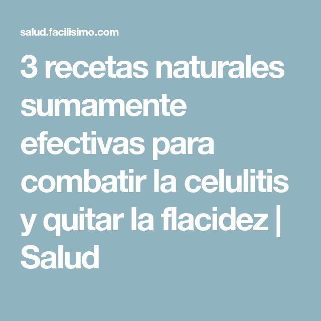 3 recetas naturales sumamente efectivas para combatir la celulitis y quitar la flacidez | Salud