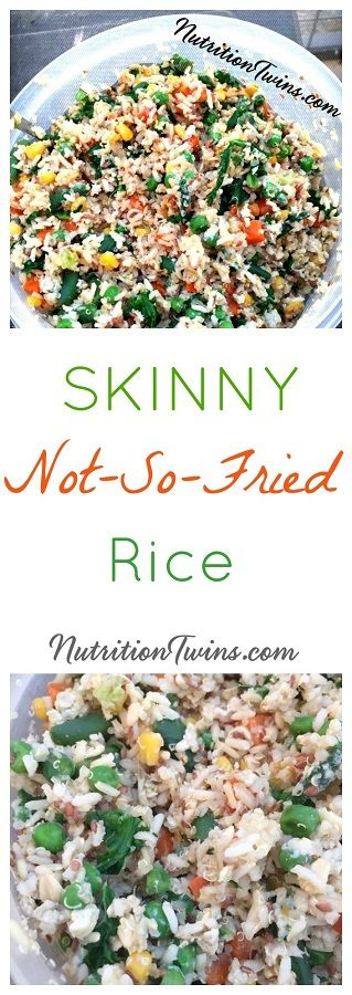"""Skinny """"Fried"""" Rice 