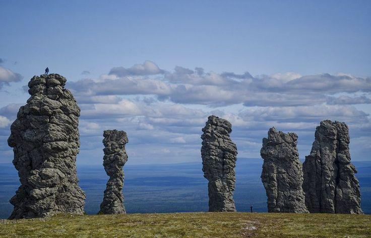 80Каменные столбы на плато Маньпупунёр
