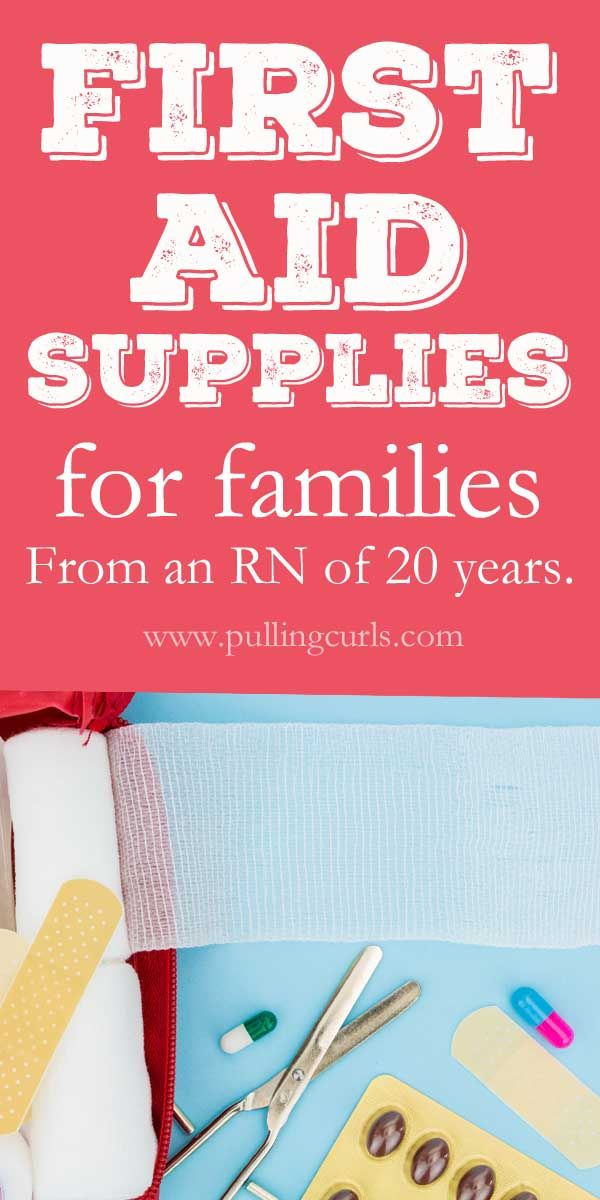 first aid kit supplies/ checklist / families / where to buy / summer / nurse