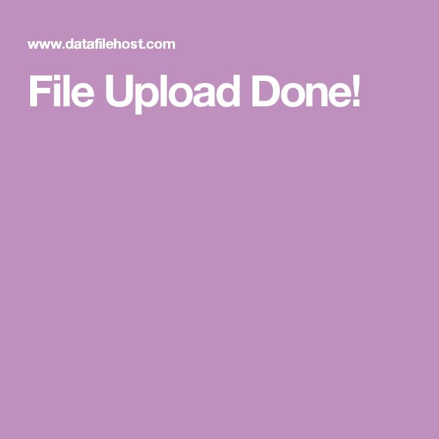 File Upload Done!