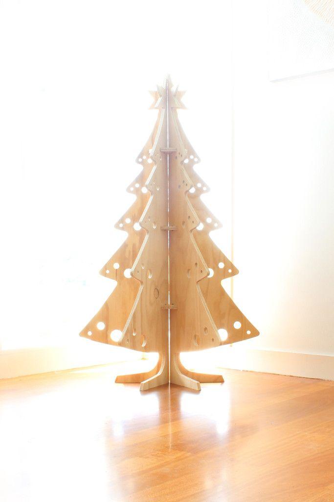 Cool Plywood Christmas Tree, Plywood Reindeer, Christmas ...