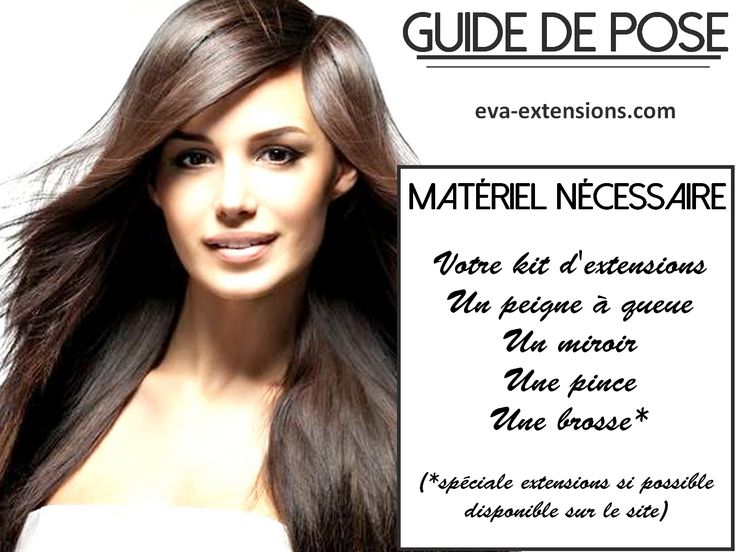 Extension a clip naturel discount