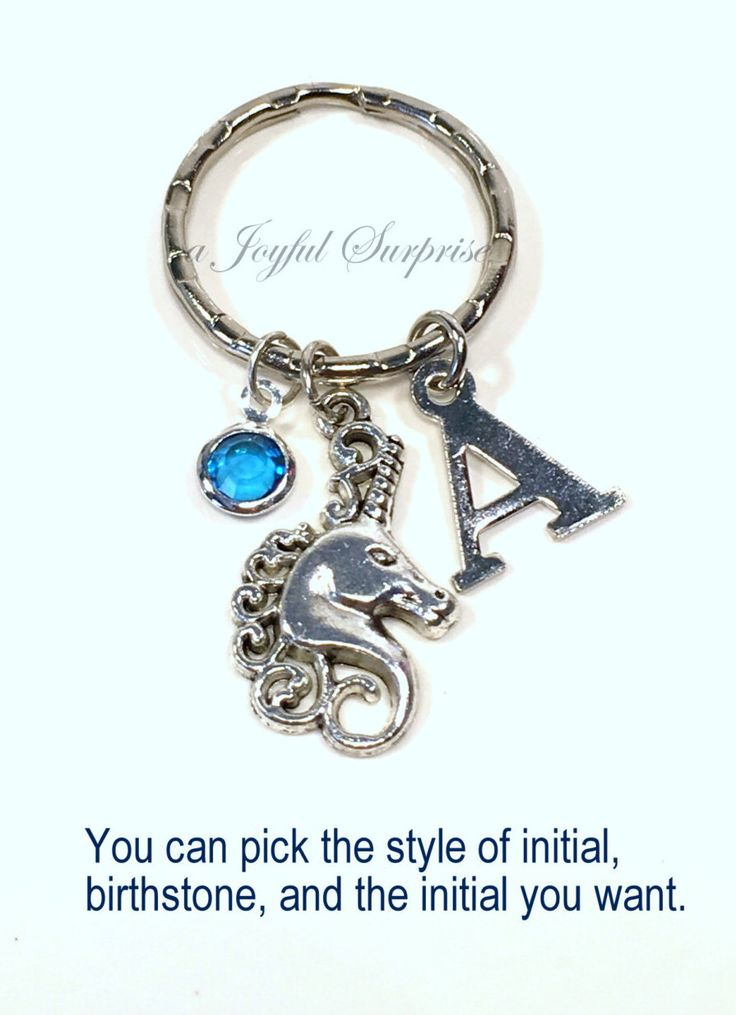 Unicorn Keychain Fairy Tale Keyring Fairytale Key chain Horse Gift Magical Jewelry Animal luggage tag Initial Birthstone Purse charm Planner  A personal favorite from my Etsy shop https://www.etsy.com/ca/listing/274361774/unicorn-keychain-fairy-tale-keyring