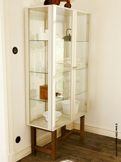 Ikea Stockholm Glass Cabinet Review ~ Glass doors, Stockholm and Cabinets on Pinterest
