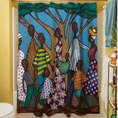 Found it at Wayfair - Family Tree Shower Curtain