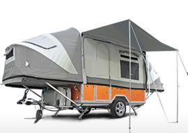 Camper Anhänger | Off-Road-Wohnwagenanhänger - OPUS Camper DE