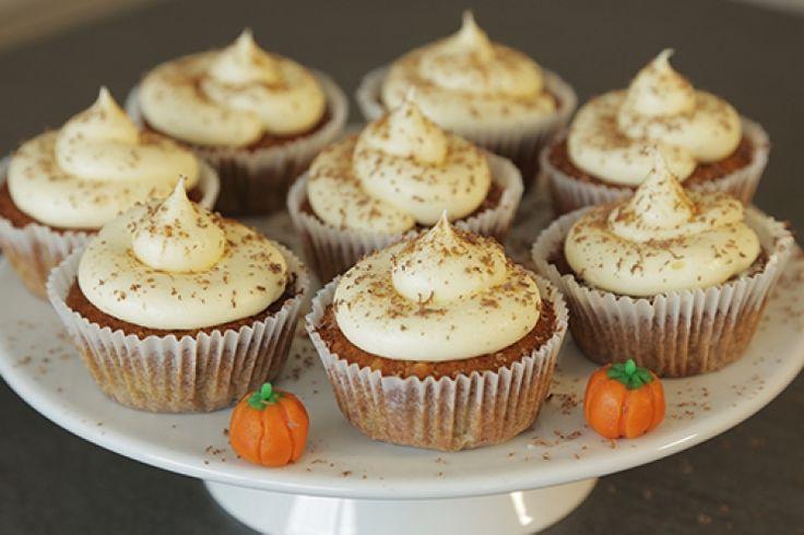Sallys Blog - Kürbis Cupcakes (12 St. oder 24 kleine)
