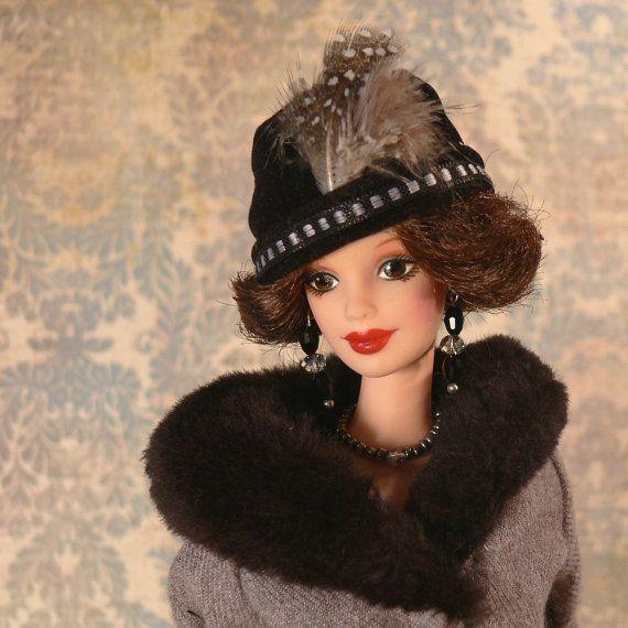 DOWNTON ABBEY Lady Mary Crawley OOAK Doll 1920s by MoonSingerLane