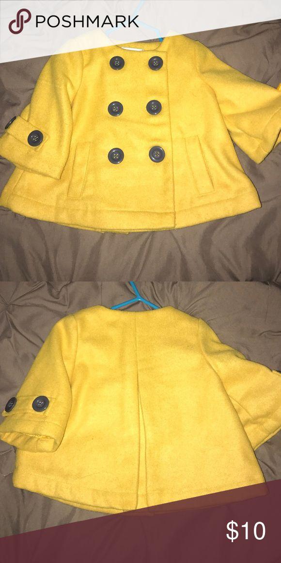 Baby pea coat Cute, fun and fab coat! Jackets & Coats Pea Coats