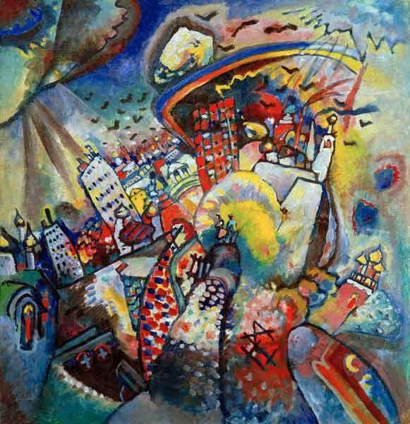 Vassily Kandinsky - Moscow I