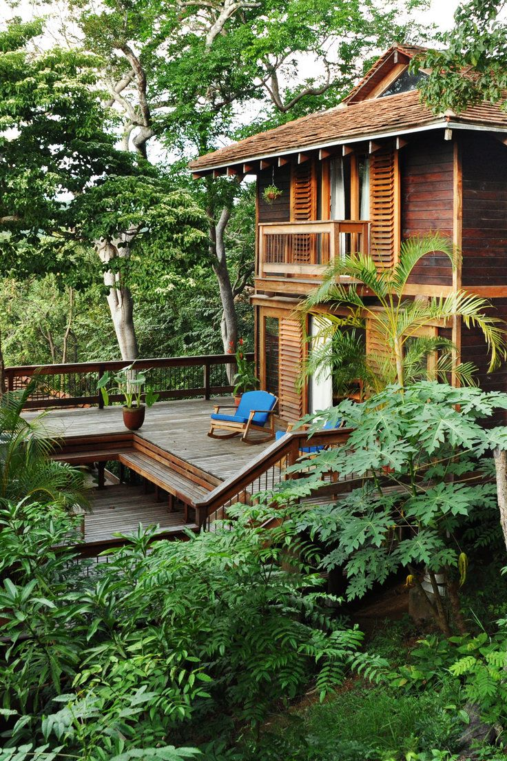 Aqua Wellness Resort - San Juan del Sur, Nicaragua - The Aqua is secluded in a rainforest, with treetop accommodations and a private beach.