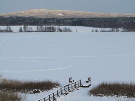 Lake Värmullen, Hagfors, Värmland, Zweden