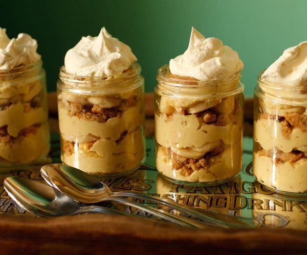 Banana Pudding with Moonshine Whipped Cream