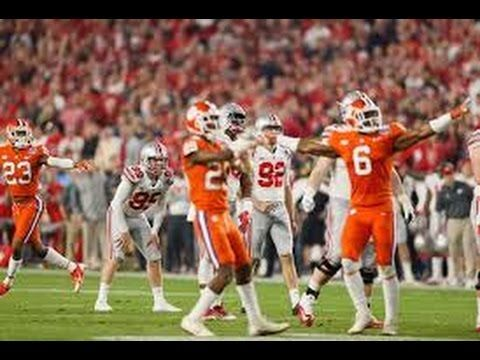 Clemson Shuts Out Ohio State To Reach CFB Finals