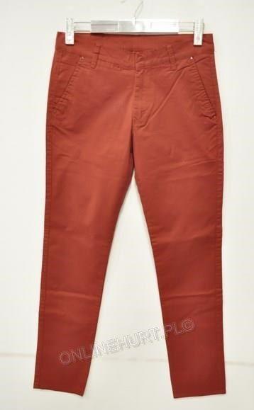 Spodnie Męskie Wizytowe Artista 343  _E1 (30-38) ceglasty