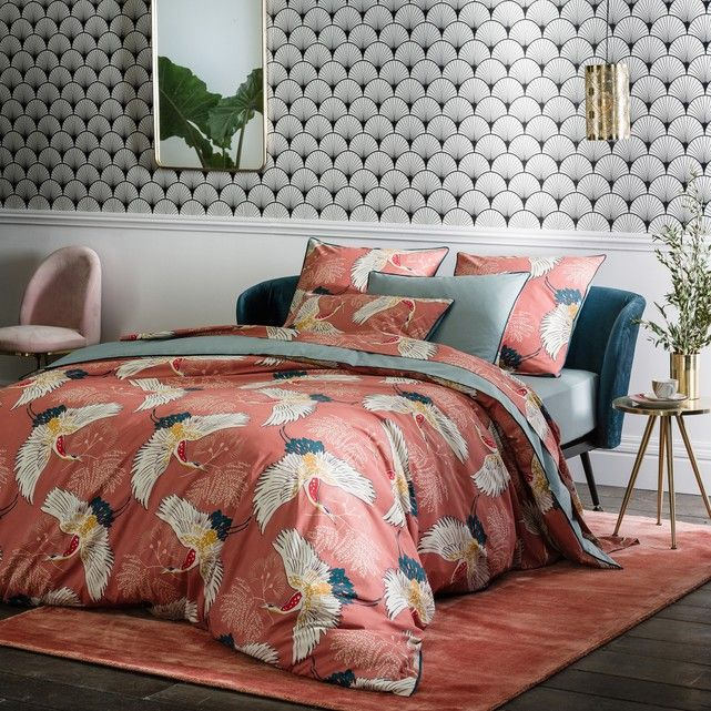 Percale Cranes Duvet Cover Duvet Covers Best Bedding Sets