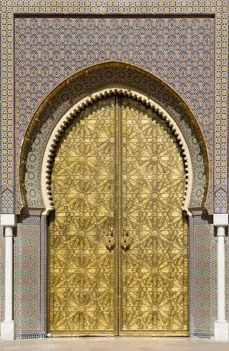 Arabian doors are unique & 103 best Timur Tengah images on Pinterest | Islamic art Mosque and ...