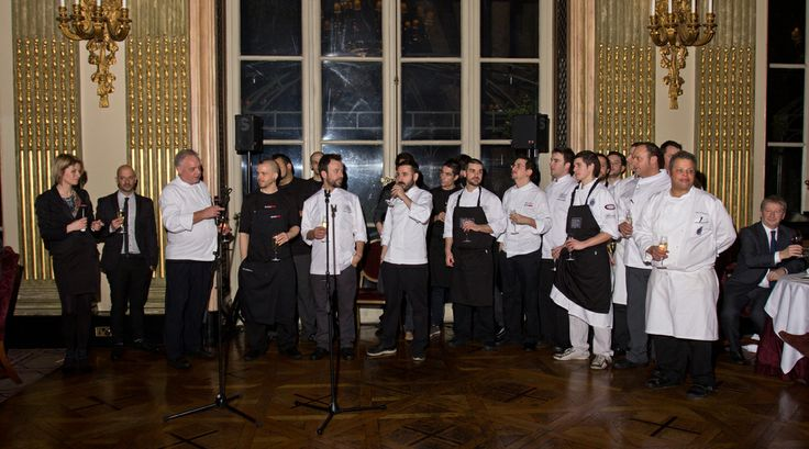 Chef's power at The Royal Automobile Club member's dinner by Nacho Manzano & David Munoz