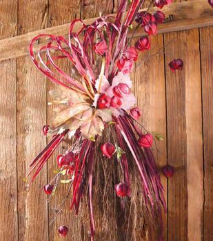 Straw Broom Arrangement