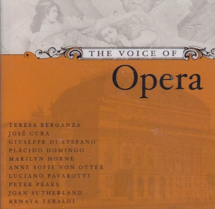 The Voice of Opera (2 CDs, 2003 Decca/MHS) Greatest Voices/Popular Arias - New  | eBay