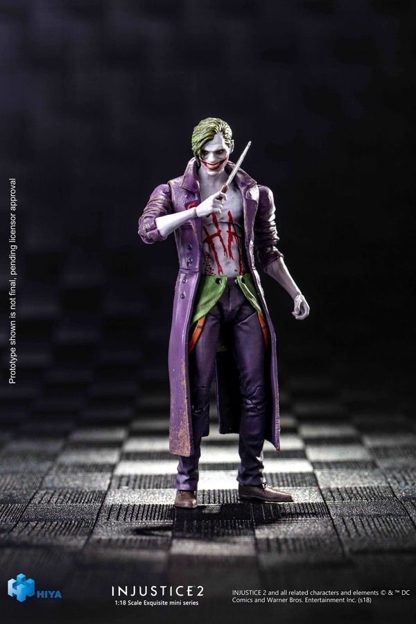 Injustice 2 Joker 1 18 Scale Figure From Hiya Toys Injustice 2 Joker Injustice 2 Characters Joker