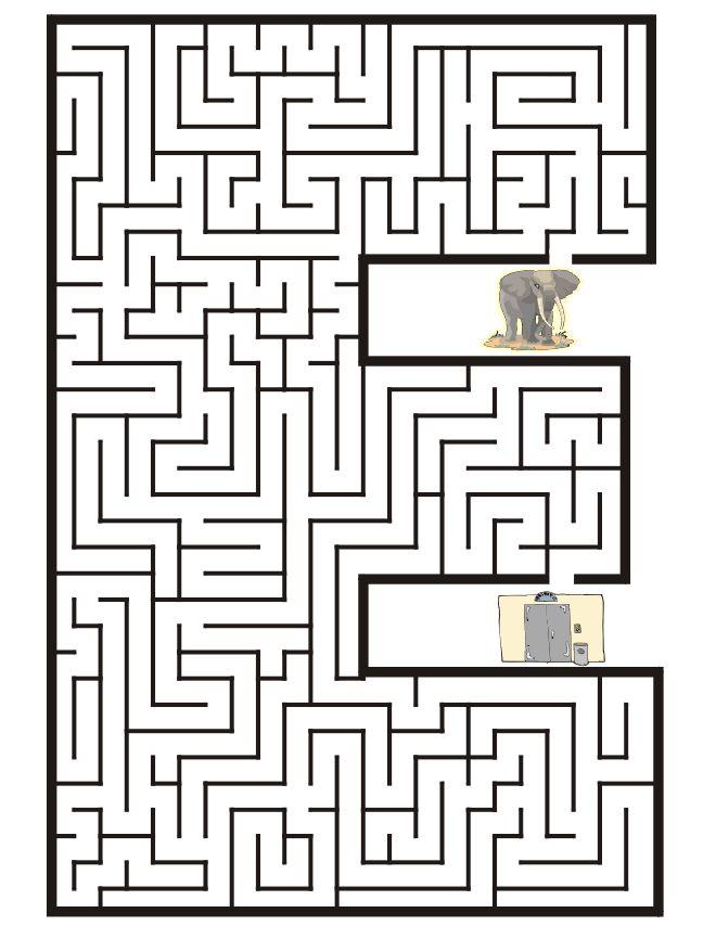 Free Printable Mazes!