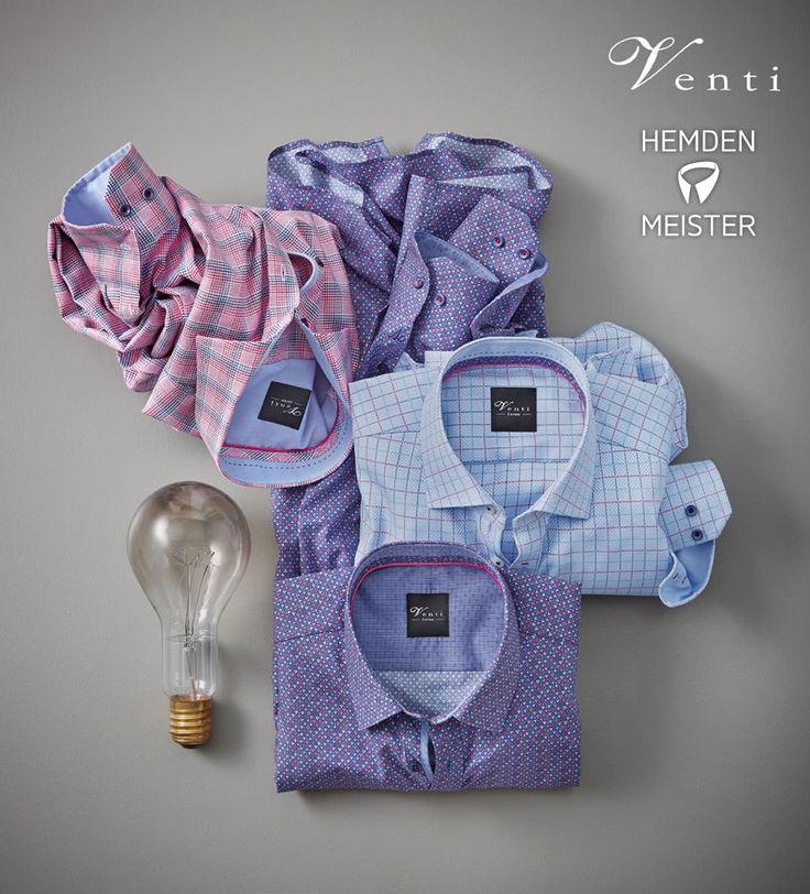 #Hemden auf hemden-meister.de. Man kann zw. 5% oder eine kostenlose Krawatte entscheiden.   #venti #hemd #style #herren #mode