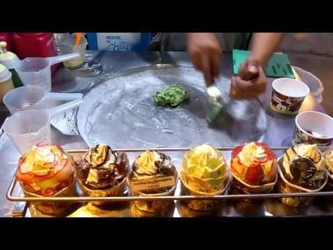 Él prepara los helados de la manera más increíble que puedas imaginar | Upsocl