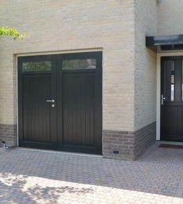 Houten garagedeuren - Van Straaten® Houten Deuren