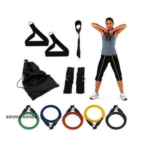 Resistance Bands Exercise/Workout/Yoga Multi Level Portable Strength Training