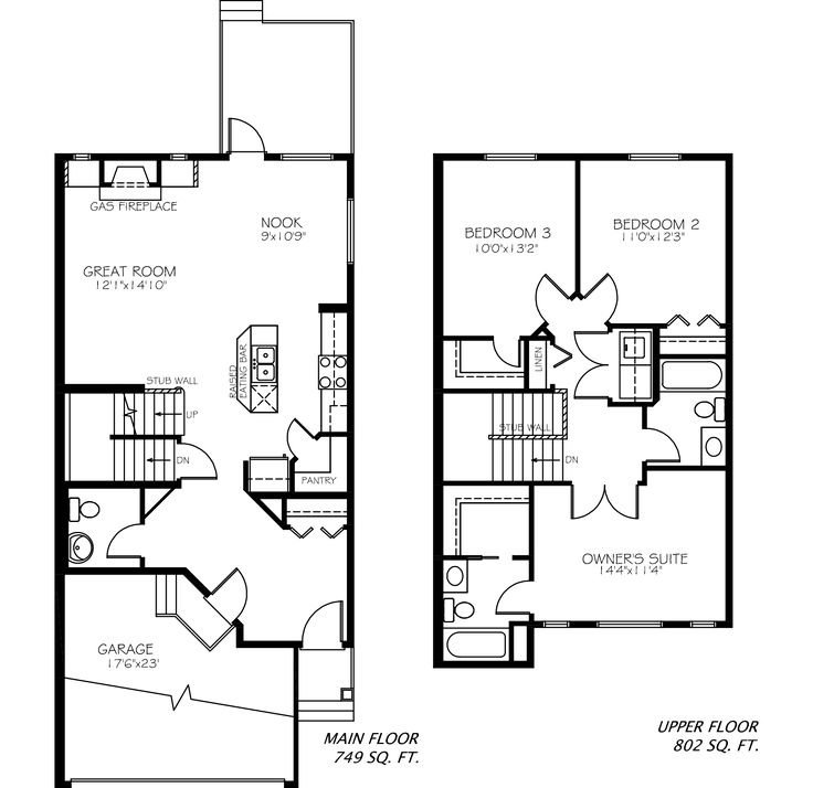 The Zoe floor plan from Pacesetter Homes