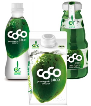 I LOVE coconut water! My favorite drink ever! :)