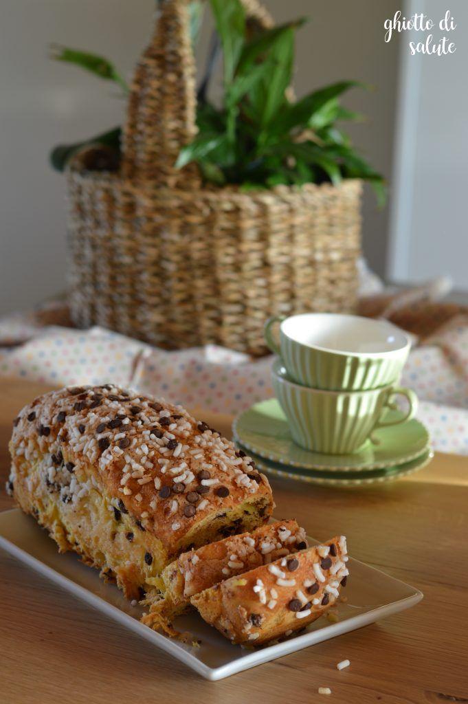 Pan brioche di farro con latte d'avena e gocce di cioccolato (veg)