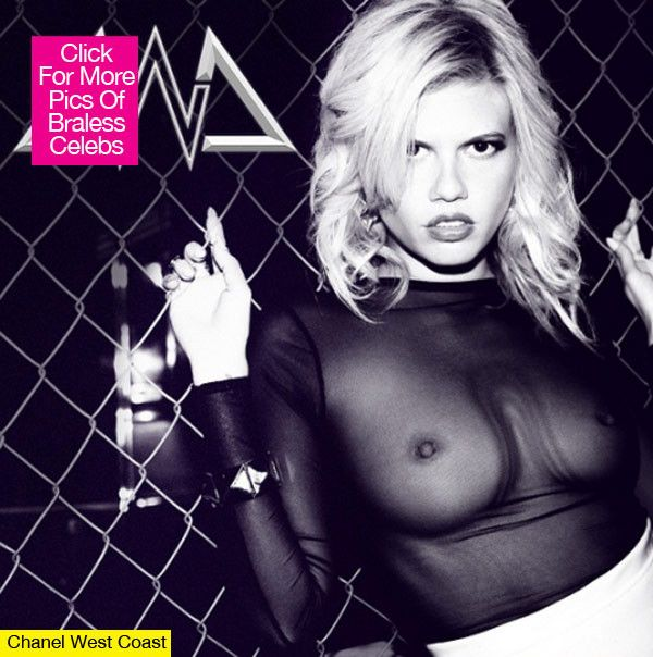 Chanel West Coast Poses Topless On Mixtape Cover — See ThePic