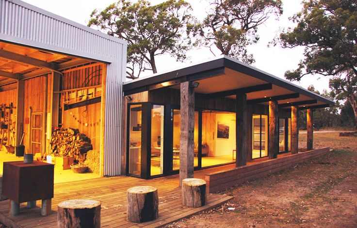 The ber shed australian design review architecture for Modern house designs victoria