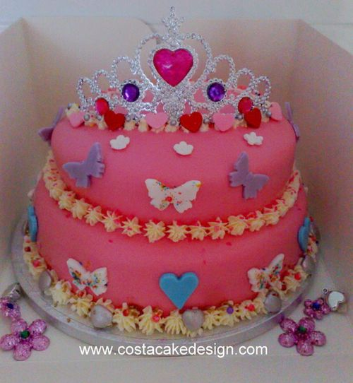 Cake Decorating Ideas Birthday Girl : Girls Birthday Cakes Girls Birthday Cakes by Costa Cake ...