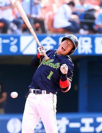 ヤクルト・山田、最近3試合で計5安打 左脇腹に死球受けるも「大丈夫です」