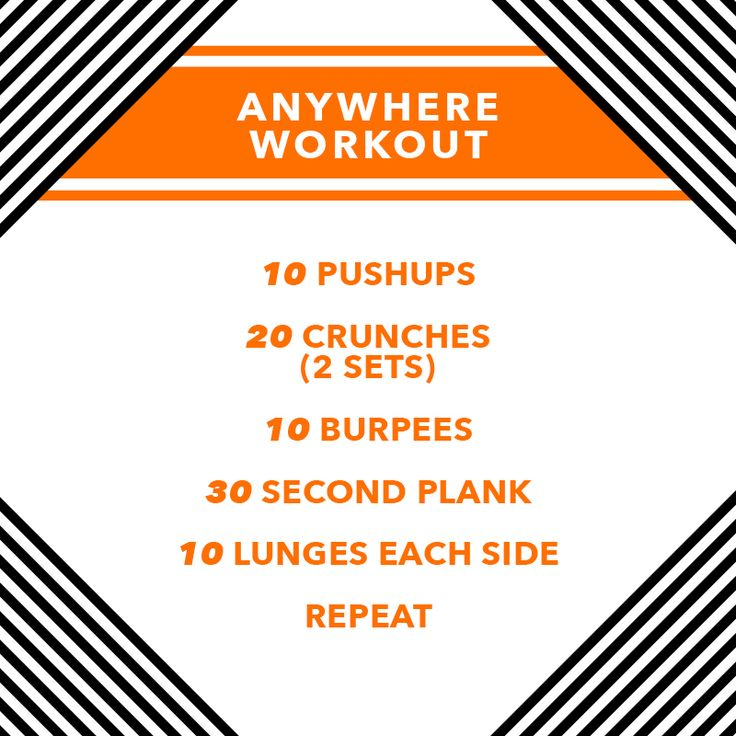 Challenge yourself today with our #WorkoutWednesday anywhere workout! Share with and tag your #workout buddies! #StayAmazing