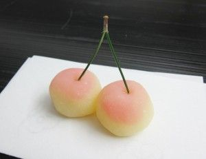 Japanese cake 千本玉寿軒「さくらんぼ」