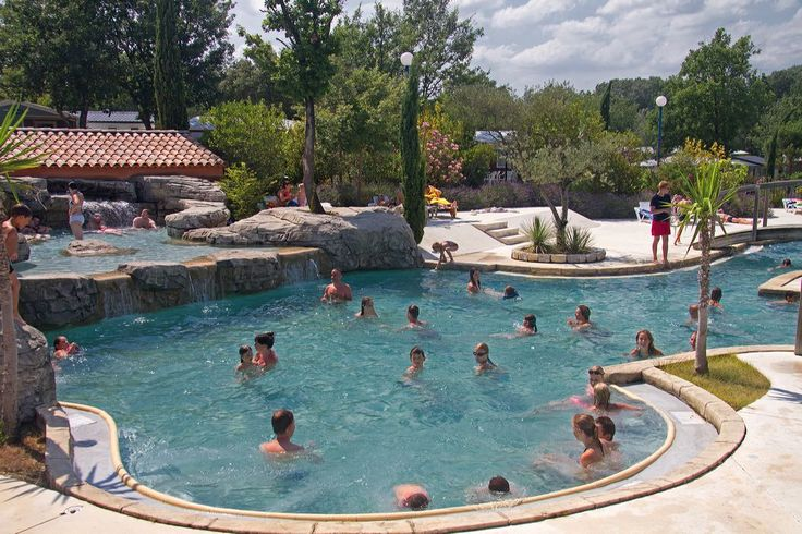 Camping***** Le Soleil Vivarais - Sampzon #Camping #Ardeche #Piscine #Fun #Cool #Relax #Vacances