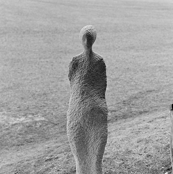 Vision , sculpture of stone,  by artist Thaddäus Salcher