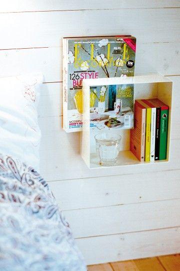 Kubo sänghylla och självhängande sängbord - Maze Interior
