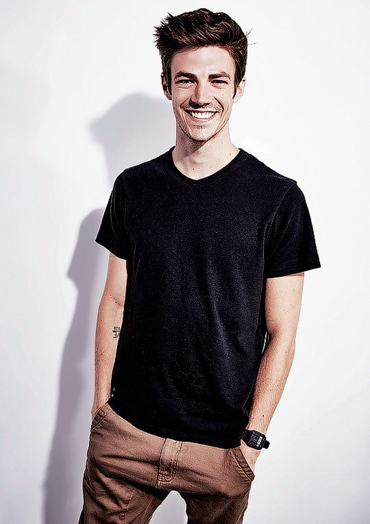 Grant Gustin - for getty images portrait studio powered by samsung galaxy