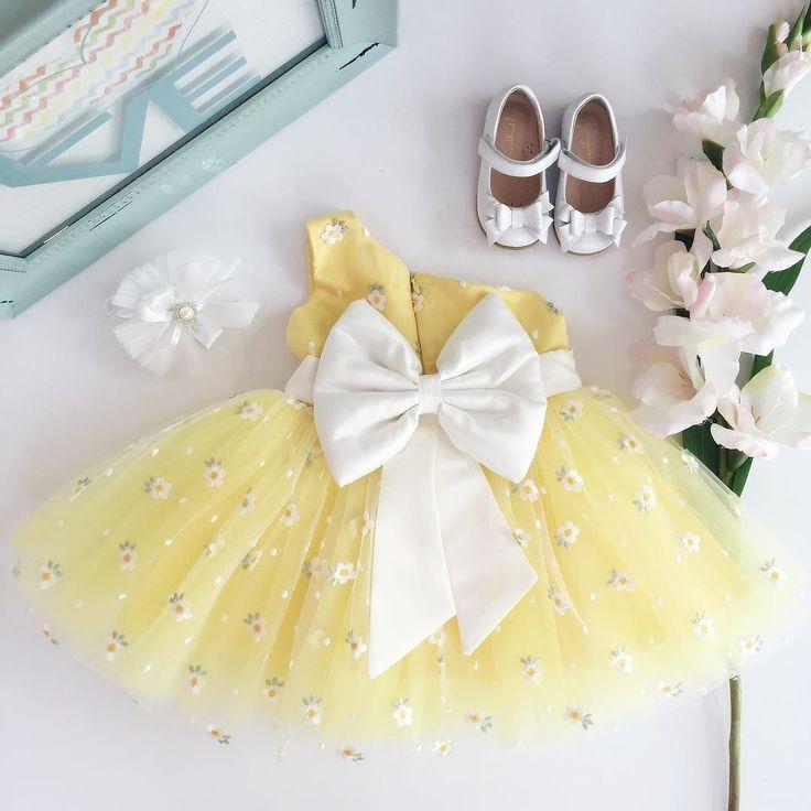 "Yellow Angelina Dress  Gjergjani MJ 05-02 shoes  Shop: ittybittytoes.com (search ""Angelina"")"