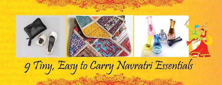 9 Tiny, Easy to Carry Navratri Essentials